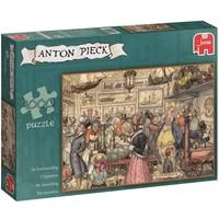 Puzzel Anton Pieck: Tentoonstelling 1000 stukjes