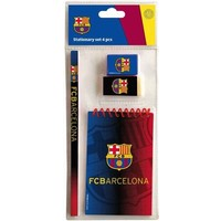 Schrijfset barcelona FCB: 4-delig
