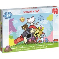 Puzzel Woezel en Pip: Overal vriendjes 35 stukjes