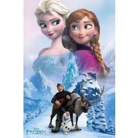 Poster Frozen 61x92 cm collage