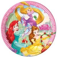 Bordjes Princess 23 cm: 8 stuks