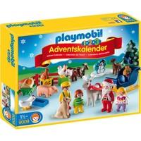 1.2.3 Adventskalender kerst op de boerderij Playmobil