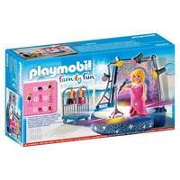 Podium met artiste Playmobil