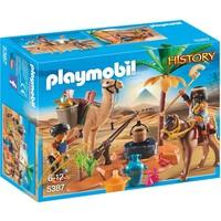 Grafrovers met Egyptische schatten Playmobil