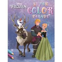 Kleurboek Frozen: super color parade