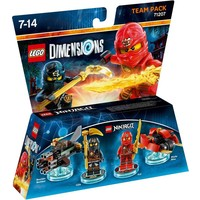 Team Pack Lego Dimensions W2: Ninjago