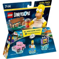 Level Pack Lego Dimensions W1: Simpsons