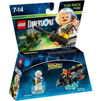 Fun Pack Lego Dimensions W3: BTTFuture
