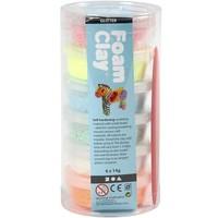 Foam Clay Creotime glitter: 6x14 gram