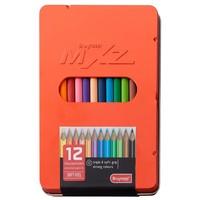 Kleurpotloden MXZ rood Bruynzeel: 12 stuks