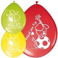 Ballonnen Woezel en Pip: 8 stuks