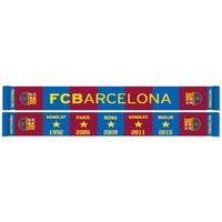 Sjaal barcelona rood/blauw stars