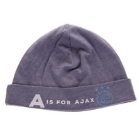 Baby muts ajax blauw: A is for Ajax
