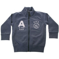 Baby baseball jacket blauw: A is for Ajax
