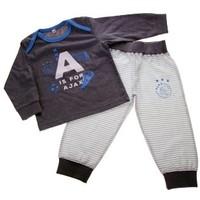 Baby pyjama ajax blauw: A is for Ajax
