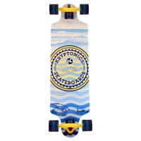 Longboard Krypto twin: Heat Waves 81 cm/ABEC7
