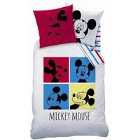 Dekbed Mickey Mouse: 140x200/63x63 cm