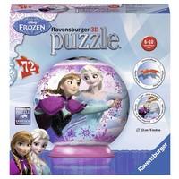 Puzzel Frozen 3d: 72 stukjes