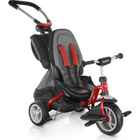 Driewieler Puky Ceety Premium rood: 18 mnd/80 cm