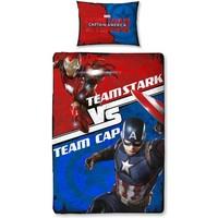 Dekbed Captain America: 140x200/50x75 cm