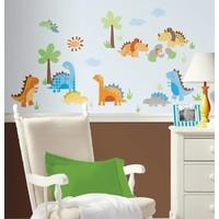 Muursticker Roommates: Babysaurus 45x25 cm