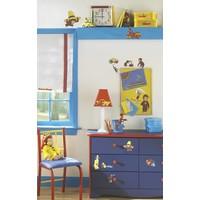 Muursticker Roommates: Curious George 25x45 cm