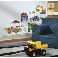 Muursticker Roommates: Speed Construction 45x25 cm