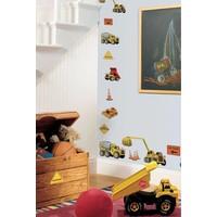 Muursticker Roommates: Under Construction 25x45 cm
