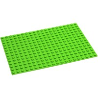 Grondplaat Hubelino: groen 280 noppen