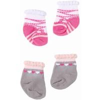 Sokken Baby Annabell 2-pack ballerina/hart