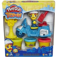 Fantasy Play-Doh Town: Politie motor 140 gram