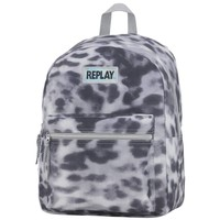 Rugzak Replay Girls leopard grey 41x30x16 cm