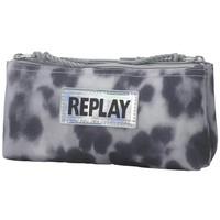 Etui Replay Girls leopard grey 10x21x6 cm
