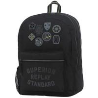 Rugzak Replay emblem 45x33x18 cm