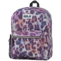Rugzak Replay Girls leopard pink 45x33x18 cm