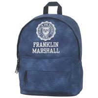 Rugzak Franklin Marshall blue 40x30x15 cm
