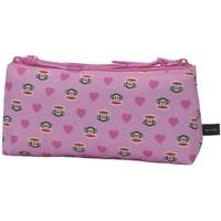 Etui Paul Frank Girls pink 10x21x6 cm