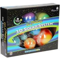 Glow in the Dark sterren: 3D Solar System