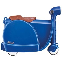 Skoot kinderkoffer blauw- 40 cm