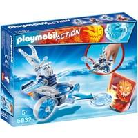 Frosty met disc-shooter Playmobil