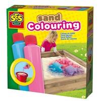 Zand kleuren SES: blauw/roze