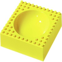 Ontbijtschaaltje Placematix geel