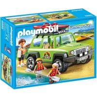 Familieterreinwagen met kajaks Playmobil