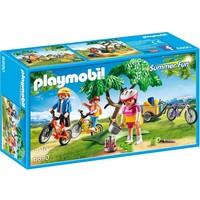 Mountainbiketocht met bolderwagen Playmobil