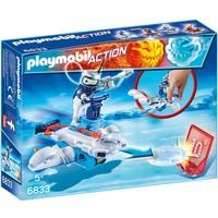 Icebot met disc-shooter Playmobil