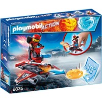 Firebot met disc-shooter Playmobil