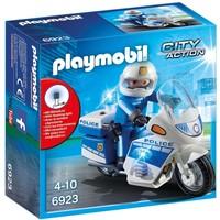 Politiemotor met LED-licht Playmobil
