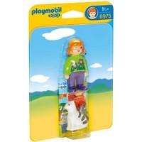 Verzorgster met kat Playmobil