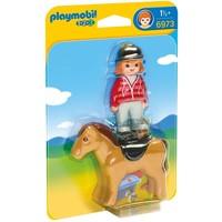 Ruiter met paard Playmobil