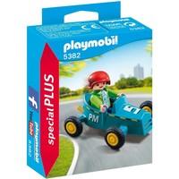 Jongen met cart Playmobil